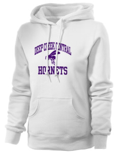 Deep Creek Central Elementary School Hornets Russell Women's Pro Cotton Fleece Hooded Sweatshirt