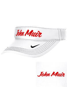 John Muir Middle School Wildcats Embroidered Nike Golf Dri-Fit Swoosh Visor
