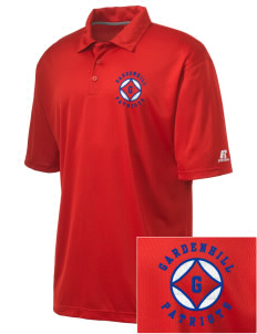 Gardenhill Elementary School Patriots Embroidered Russell Coaches Core Polo Shirt