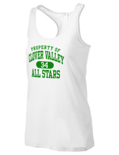 Clover Valley High School All Stars Women's Racerback Tank
