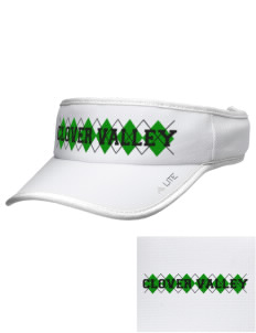 Clover Valley High School All Stars Embroidered Lite Series Active Visor