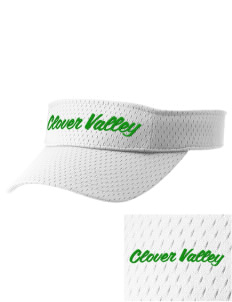 Clover Valley High School All Stars Embroidered Woven Cotton Visor