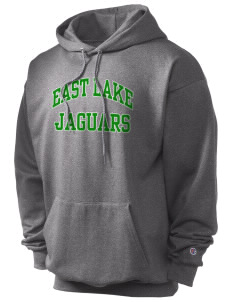 East Lake Elementary School Jaguars Champion Men's Hooded Sweatshirt