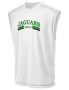 East Lake Elementary School Jaguars Champion Men's 4.1 oz Double Dry Odor Resistance Muscle T-Shirt