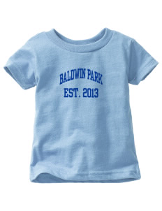 Baldwin Park High School Braves  Toddler Jersey T-Shirt