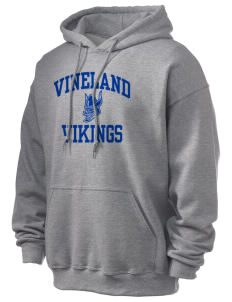 Vineland Elementary School Vikings Ultra Blend 50/50 Hooded Sweatshirt