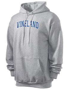 Vineland Elementary School Vikings Men's 7.8 oz Lightweight Hooded Sweatshirt
