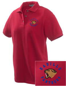 Badillo Elementary School Panthers Embroidered Women's Pique Polo