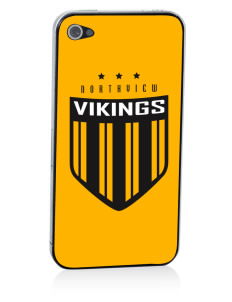 Northview High School Vikings Apple iPhone 4/4S Skin