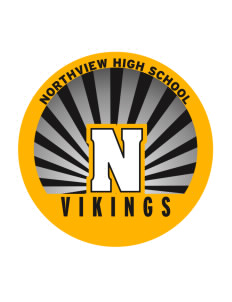 Northview High School Vikings Sticker