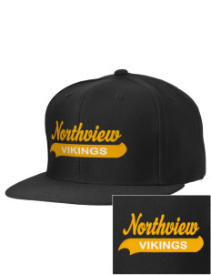 Northview High School Vikings Embroidered D-Series Cap