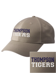 Thompson Elementary School Tigers  Embroidered New Era Adjustable Structured Cap