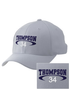 Thompson Elementary School Tigers Embroidered Pro Model Fitted Cap