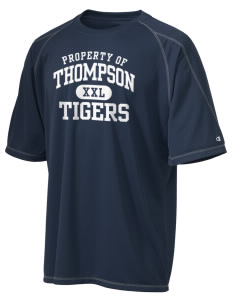 Thompson Elementary School Tigers Champion Men's 4.1 oz Double Dry Odor Resistance T-Shirt