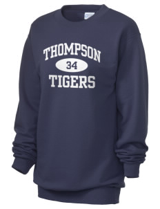 Thompson Elementary School Tigers Unisex 7.8 oz Lightweight Crewneck Sweatshirt