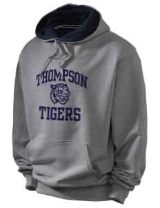 Thompson Elementary School Tigers Champion Men's Hooded Sweatshirt