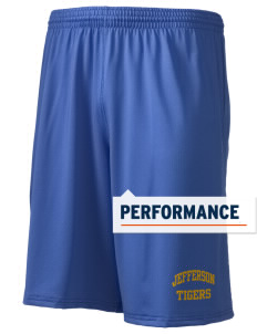 "Jefferson Elementary School Tigers Holloway Men's Performance Shorts, 9"" Inseam"