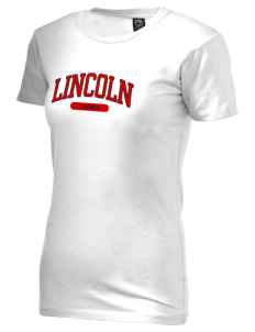 Lincoln Elementary School Lions Alternative Women's Basic Crew T-Shirt