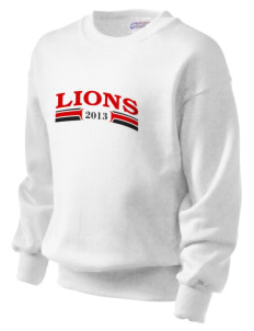 Lincoln Elementary School Lions Kid's Crewneck Sweatshirt