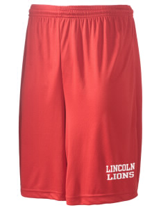 "Lincoln Elementary School Lions Men's Competitor Short, 9"" Inseam"