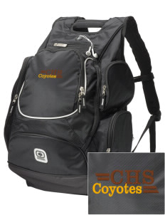 Calabasas High School Coyotes  Embroidered OGIO Bounty Hunter Backpack