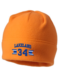 Lakeland Elementary School Animals Embroidered Fleece Beanie