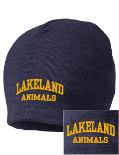 Lakeland Elementary School Animals Embroidered Beanie
