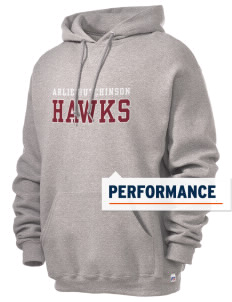 Arlie Hutchinson Middle School Hawks Russell Men's Dri-Power Hooded Sweatshirt