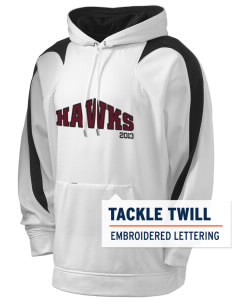 Arlie Hutchinson Middle School Hawks Holloway Men's Sports Fleece Hooded Sweatshirt with Tackle Twill