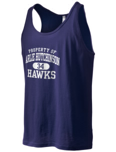 Arlie Hutchinson Middle School Hawks Men's Jersey Tank
