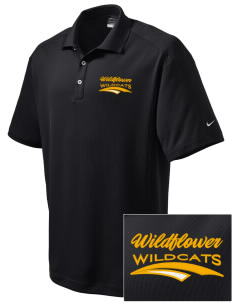 Wildflower Elementary School Wildcats Embroidered Nike Men's Dri-Fit Classic Polo