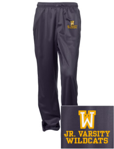 Wildflower Elementary School Wildcats Embroidered Women's Tricot Track Pants
