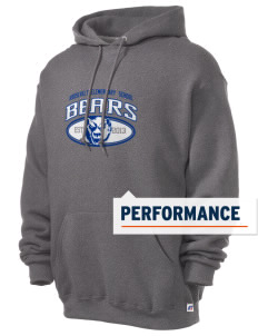 Roosevelt Elementary School Bears Russell Men's Dri-Power Hooded Sweatshirt