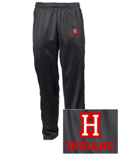 Hart High School Indians Embroidered Men's Tricot Track Pants