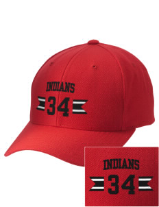 Hart High School Indians Embroidered Wool Adjustable Cap