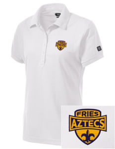 Fries Elementary School Aztecs Embroidered OGIO Women's Jewel Polo