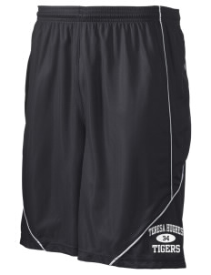 "Teresa Hughes Elementary School Tigers Men's Pocicharge Mesh Reversible Short, 9"" Inseam"