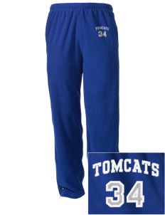 Orville Wright Middle School Tomcats Embroidered Holloway Men's Flash Warmup Pants