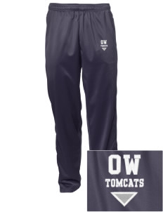 Orville Wright Middle School Tomcats Embroidered Men's Tricot Track Pants