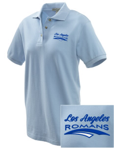 Los Angeles High School Romans Embroidered Women's Pique Polo