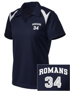 Los Angeles High School Romans Embroidered Holloway Women's Laser Polo