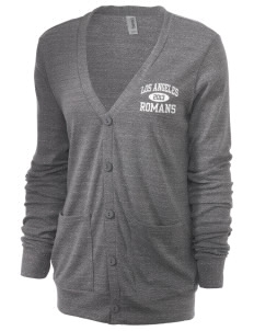 Los Angeles High School Romans Unisex 5.6 oz Triblend Cardigan