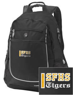 San Fernando High School Tigers Embroidered OGIO Carbon Backpack