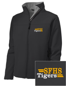 San Fernando High School Tigers Embroidered Women's Soft Shell Jacket