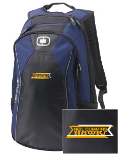Neil Cummins Elementary School Hawks Embroidered OGIO Marshall Backpack