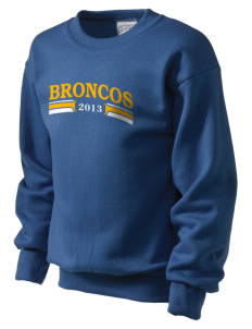 Dos Palos High School Broncos Kid's Crewneck Sweatshirt