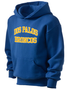 Dos Palos High School Broncos Kid's Hooded Sweatshirt