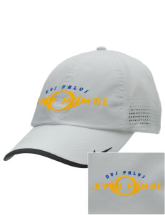 Dos Palos High School Broncos Embroidered Nike Dri-FIT Swoosh Perforated Cap
