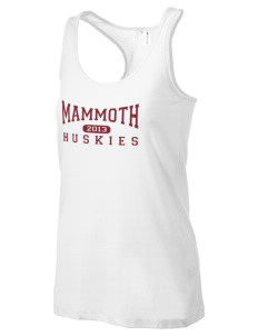 Mammoth High School Huskies Women's Racerback Tank