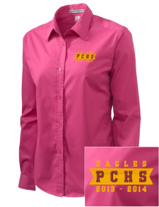 Pinnacles Continuation High School Eagles Embroidered Women's Easy-Care Shirt